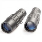 16x monocular-52mm big objective lens-metal rubber telescope