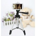 Tripod camera-portable tripod stand head-lightweight 4 section aluminum legs foldable